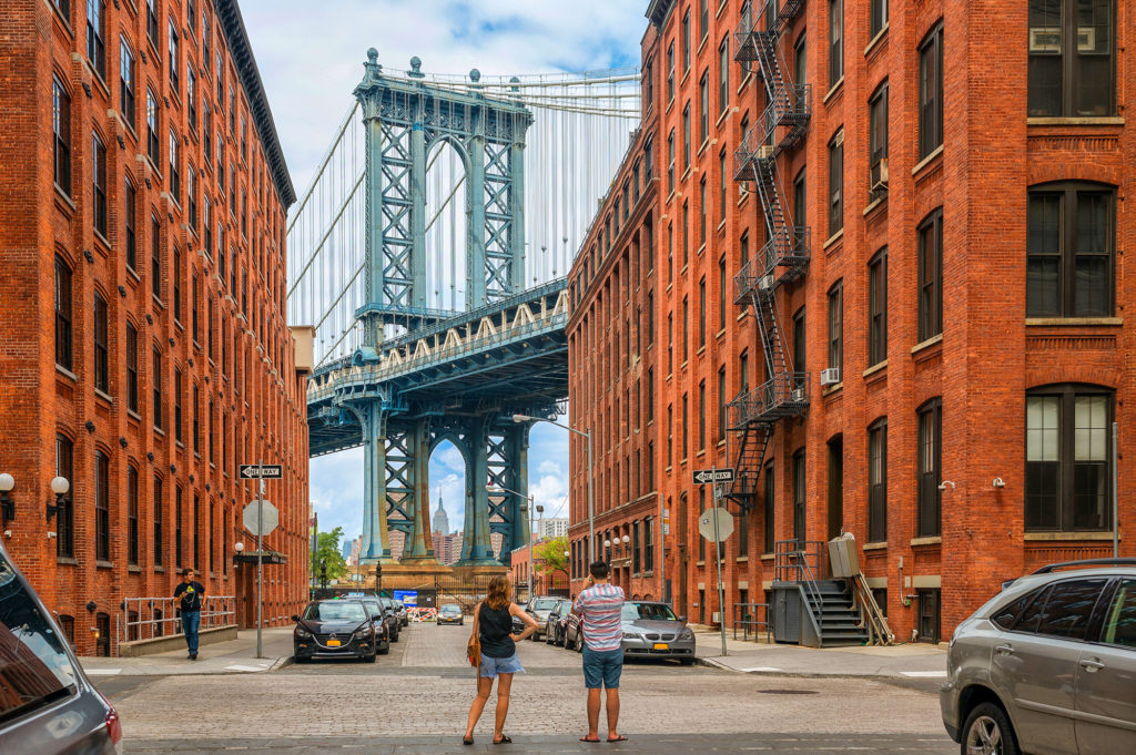 Washington Street in Dumbo