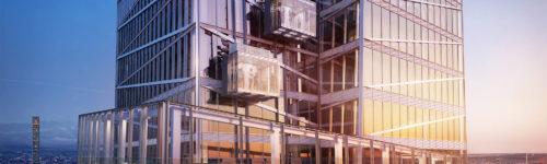 Het nieuwe observatie platform Summit in One Vanderbilt in New York